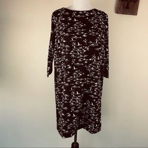 THE LIMITED BLACK SHIFT DRESS